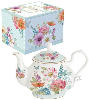COTTAGE FLOWERS konvice 0,8l