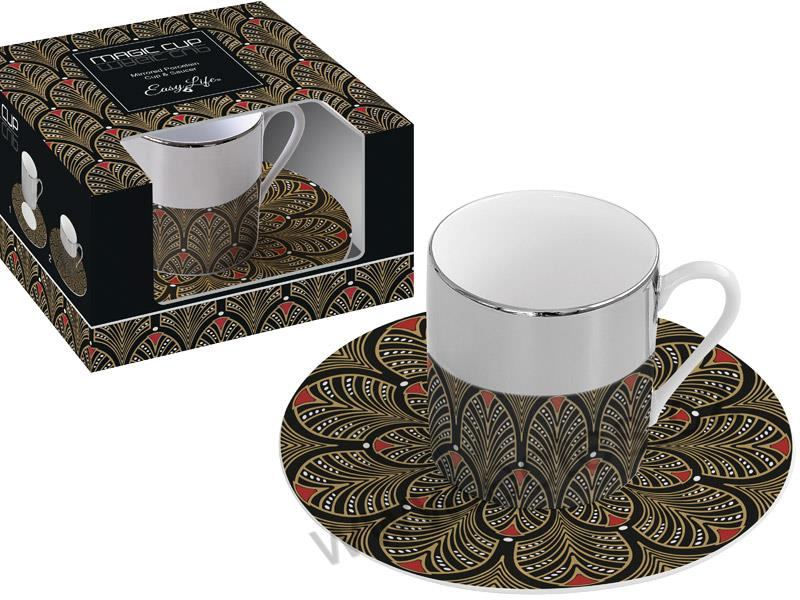 MAGIC CUP espresso šálek paví pera