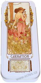 A. Mucha: The Flowers - Carnation WR053