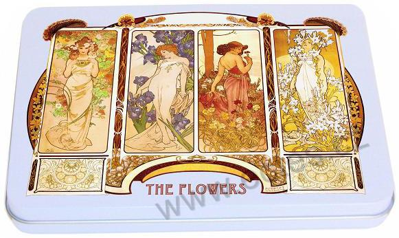 A. Mucha: The Flowers WR726