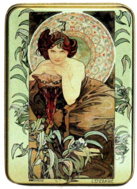 A. Mucha: The Stones - Emerald 2636