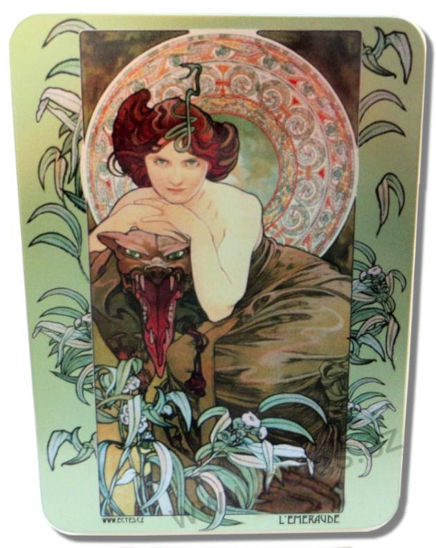 A. Mucha: The Stones - Emerald PL726