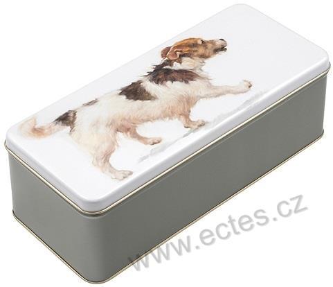 Psi A Kocky 2090 Kresleny Pes Na Bile Sedy Bok Hlavni Cleneni